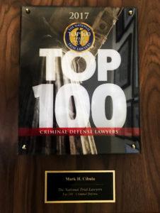 Mark Cibula National Trial Lawyers Top 100 Award