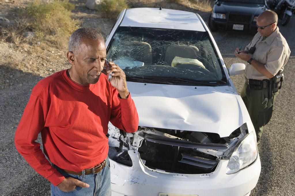 elderly man calls dui attorney after collision
