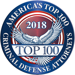 2018 America's Top 100 Criminal Defense Attorneys
