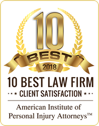 2018 - 10 Best Law Firm Client Satisfaction